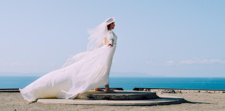 nevěsta a šaty